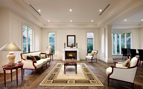 French Oak Chevron Parquet Flooring From Renaissance
