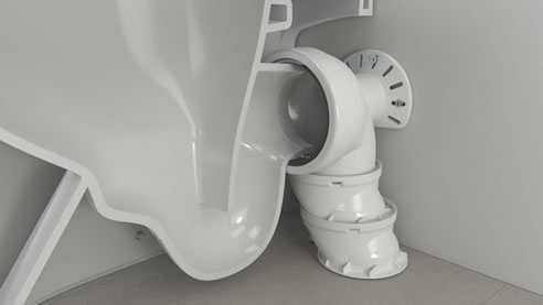 Orbital Connectors For Toilet Suites Caroma