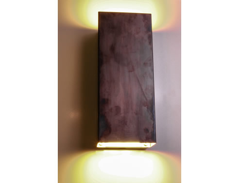 Brass Up And Down Wall Lights Outdoor : Decorative LED Wall Lights Nocturnal Lighting