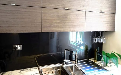Glass alternative splashbacks innovative splashbacks - Splashback alternatives ...