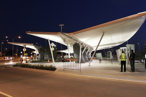 Fabric Canopies Perth Airport from MakMax Australia & Fabric Canopies Perth Airport | MakMax Australia