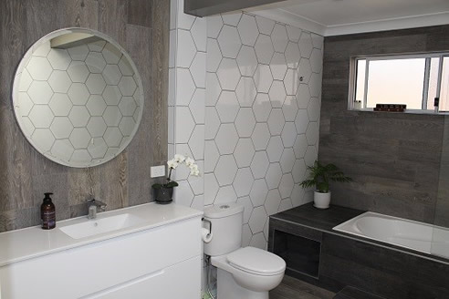 White Tile Effects For Bathrooms Mdc Mosaics