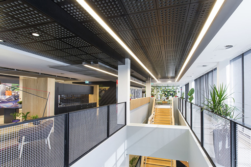 Acoustic Black Ceiling Tiles From Supawood
