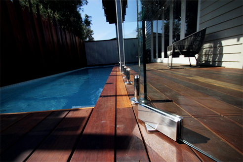 Frameless Glass Pool Fencing Fethers