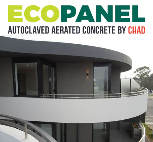 Eco Panel Autoclaved Aerated Concrete wall panel