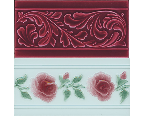 Victorian and Edwardian tiles