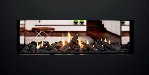 Powered vent fireplaces from Escea