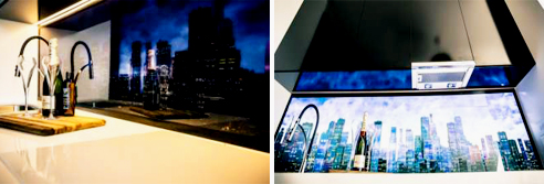 Back-Lit Wall Panels from ISPS Innovations