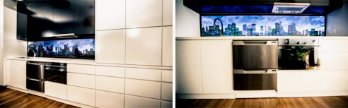 Splashbacks from ISPS Innovations