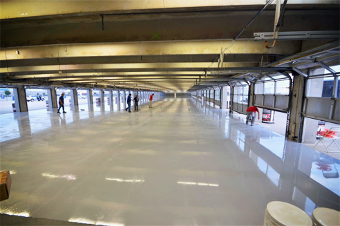 High-performance garage flooring from LATICRETE