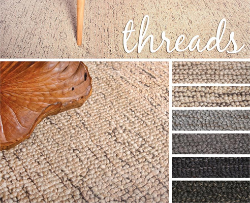 threads wool carpet