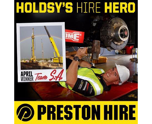 Wet and Dry Crane Hire from Preston Hire