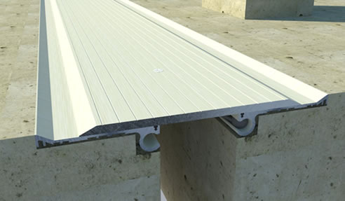 Dz H heavy duty floor expansion joint