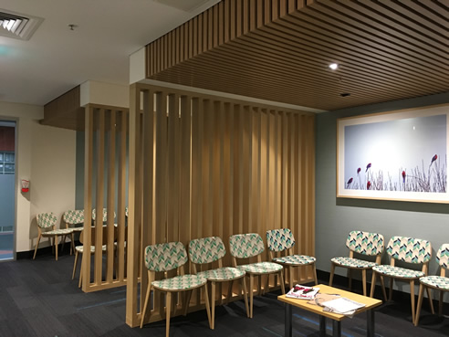 Timber Feature Ceilings and Screens from Supawood