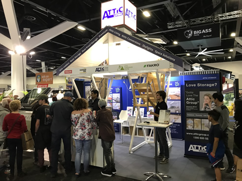 attic group at sydney homeshow