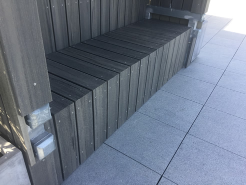 Rooftop Granite Pavers