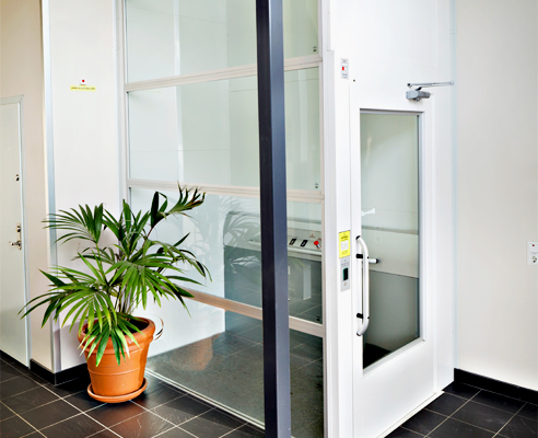 Electric platform lift from RAiSE Lift Group