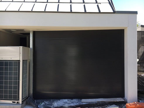 tapered bottom garage door