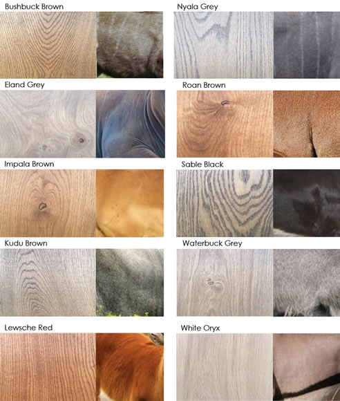 Evolution Timber Oil Colours