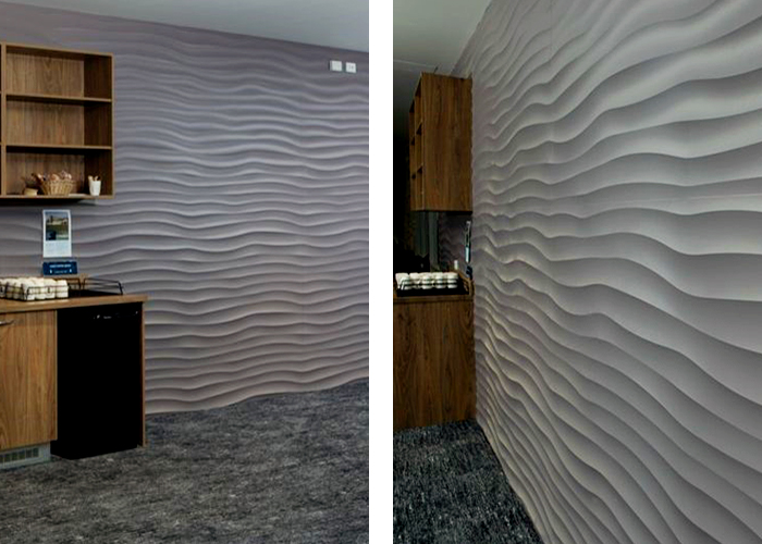 Dunes Textured Wall Panels for Small Spaces from 3D Wall Panels