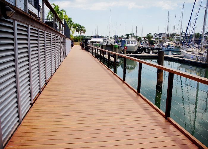 Durable Deck for Bayview Marina Darwin by DECO