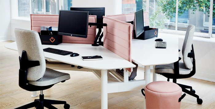 GECA Certified Commercial Furniture - Zurich workpoint