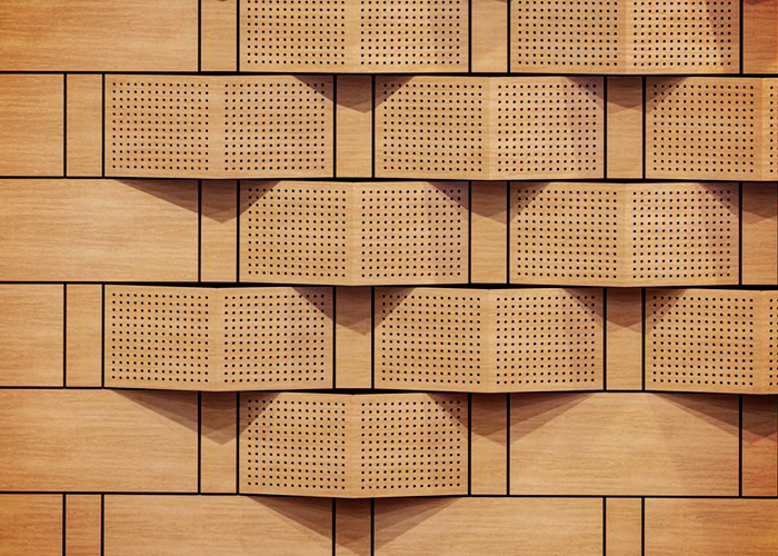 SUPACOUSTIC Decorative Acoustic Panels for Schools by SUPAWOOD
