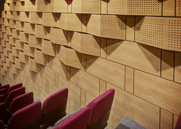 Acoustic Panels for Schools by SUPAWOOD