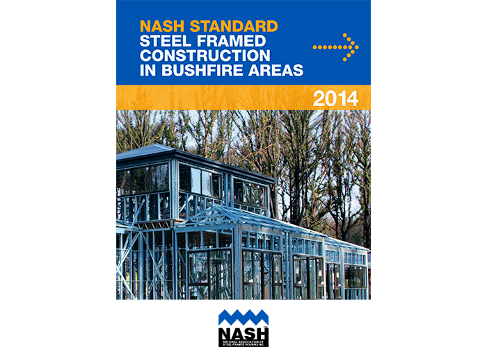 Steel Framed Houses in Bushfire Areas with NASH