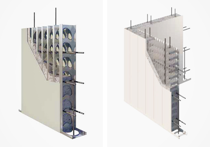 Innovative Walling Systems for Construction from AFS