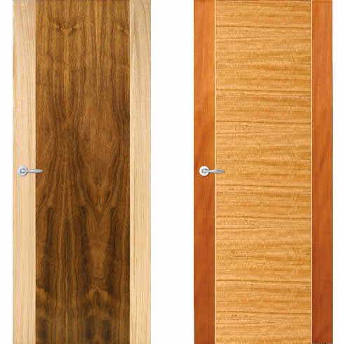 architectural entrance doors and internal doors from the