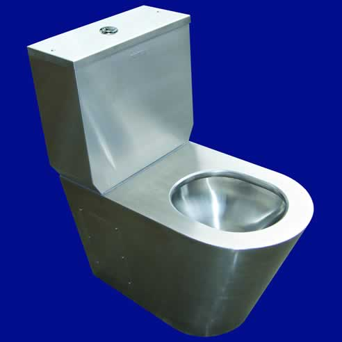 Stainless Steel Toilet Suites From Britex
