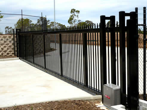Ditec automatic gates at aba automatic gates for Iron gate motor condos for sale
