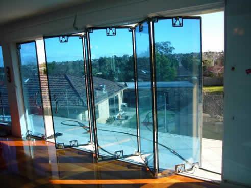 Austvision Double Glazed Bi Fold Door System From Australian Glass