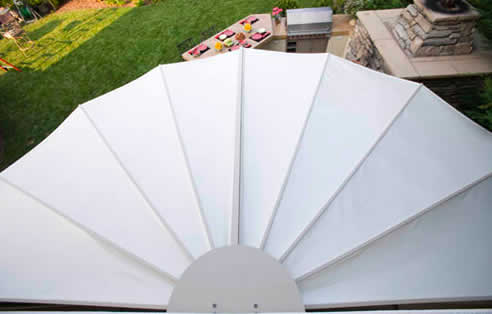 Seashell Retractable Awnings The Worlds Strongest