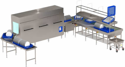 Conveyor Systems For Commercial Dishwashing From Stoddart
