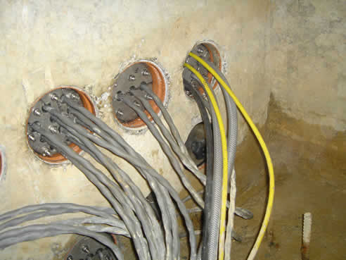For that Cable penetration seals have forgotten