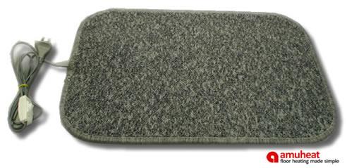 Superb Portable Heated Floor Mats By Amuheat Floor Heating
