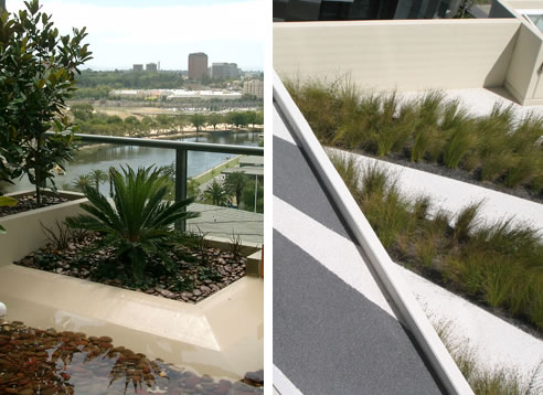Roofscaping Creating Green Roofs Victoria With Decor Stone