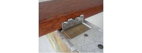 Concealed Timber Decking Fixing System At Simmonds Lumber