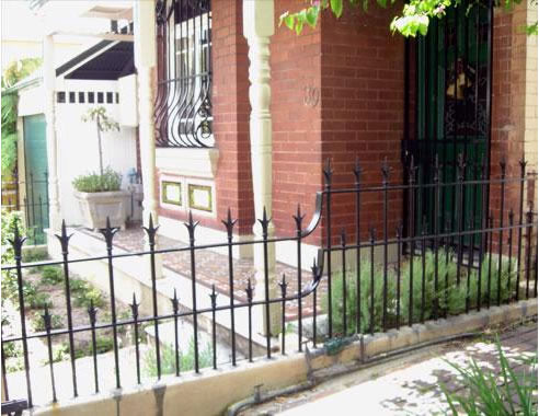 Wrought Iron Victorian Palisade Fences From Wrought Artworks