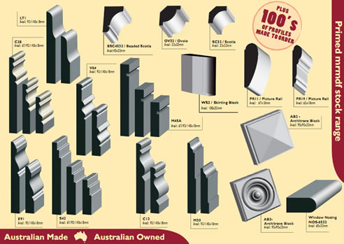 Timber Skirting Boards Australian Moulding Company