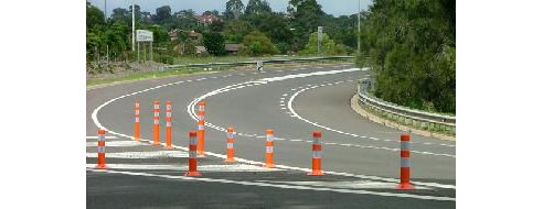 The Car Company >> Rebound Lane Dividers, Ingal Civil Products Minto NSW 2566