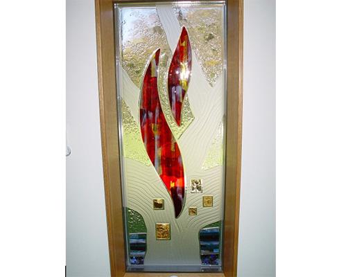 Architectural Colour Glass Moondani, Window Color Glass Design