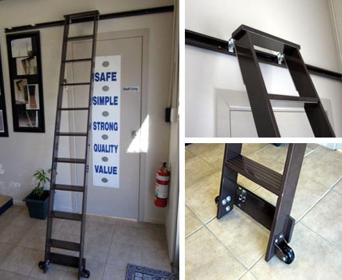 Merveilleux Library Ladder