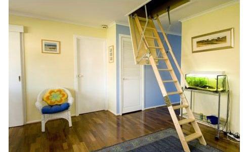 Basic Attic Storage Area Attic Ladders Tempe Nsw 2044