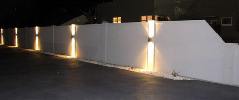 Lighting Exterior Wall Panels Modular Wall Systems