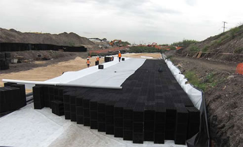 Stormwater Underground Water Storage Atlantis Corporation
