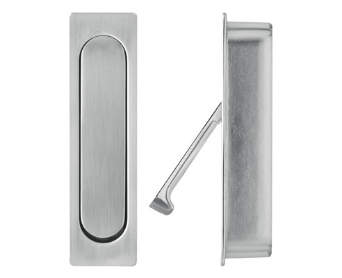 Sliding Door Edge Pull Concealed Fix Delf Architectural
