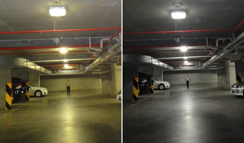 Car Park Led Lighting Upgrade Enlighten